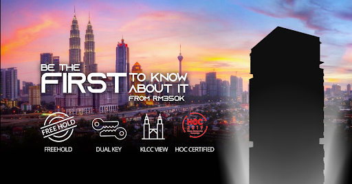 New Launch with KLCC View! Price from RM 350,000. HOC Certified